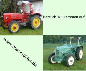 Man traktoren typenübersicht
